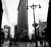 flatiron building, new york by one22andan8th
