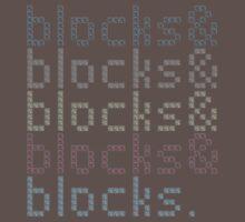Minecraft Blocks& T-Shirt