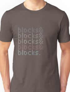 Minecraft Blocks& Unisex T-Shirt