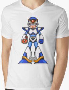 Mega Man Mens V-Neck T-Shirt