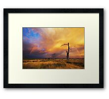 Epic December Sky Framed Print