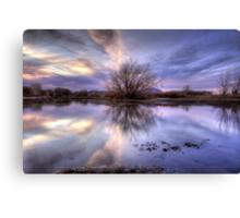 VioJet Sunset Canvas Print