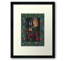 The Woodland Fairy Framed Print