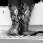 A Cowgirl in her boots! North East Victoria by Jenny Enever
