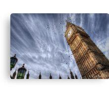 Big Ben @ 11AM Canvas Print