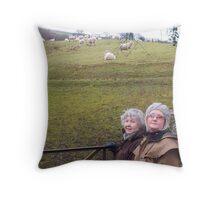 Margaret Zita & Emma Throw Pillow