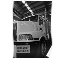 Trucking it, North East Victoria Poster