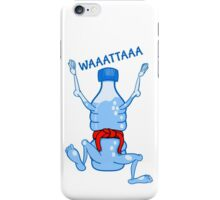 Water Bottle Karate iPhone Case/Skin