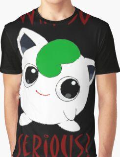 Why So Pokemon Graphic T-Shirt