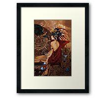 Aztec dawn Framed Print