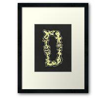 D is for Deltoids Framed Print