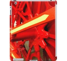 Red Gears On The Avery iPad Case/Skin