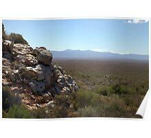 Karoo landscape Poster