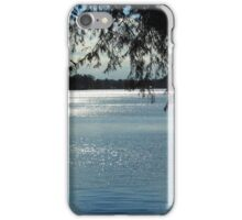 Sparkles On Willow Beach Lake iPhone Case/Skin