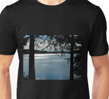 Sparkles On Willow Beach Lake Unisex T-Shirt