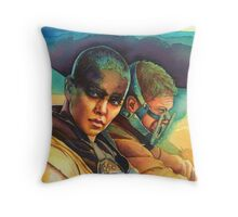 Fury Road Throw Pillow