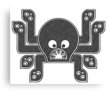 Sharp Tooth Octopus Canvas Print