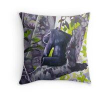 Chimpanzee Throw Pillow