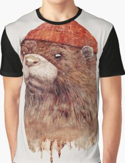 River Otter Graphic T-Shirt