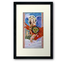 Celtic pride Framed Print