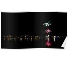 Taree fireworks 2012 Poster