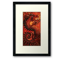 Year of the Dragon 2012 Framed Print
