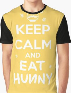 KEEP CALM - Keep Calm and Eat Hunny Graphic T-Shirt