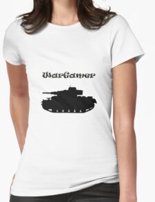 Wargamer Pz MkIII Womens Fitted T-Shirt