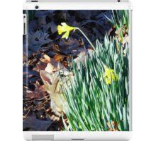 Cat In The Daffodils iPad Case/Skin