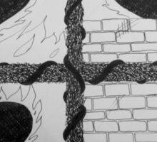 Building Walls Sticker
