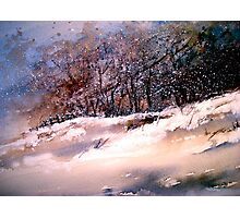 Winter Squall Photographic Print