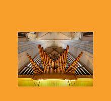 Organ pipes in Ulm Munster, Germany Unisex T-Shirt