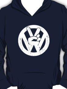 VW Volkswagen Vintage Peace Symbol The Beatles T-Shirt