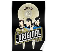 Star Trek TOS Trio Poster