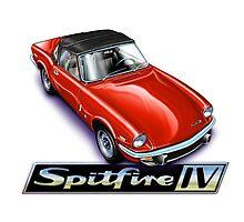 Triumph Spitfire mk4 Red by davidkyte