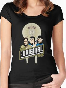 Star Trek TOS Trio Women's Fitted Scoop T-Shirt