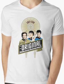 Star Trek TOS Trio Mens V-Neck T-Shirt