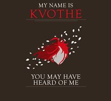 Kvothe - The Name of The Wind t-shirt T-Shirt