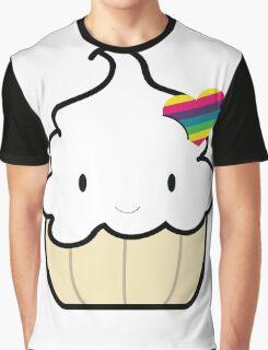 Happy Cake Graphic T-Shirt