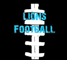 Detroit Lions Football by scaird