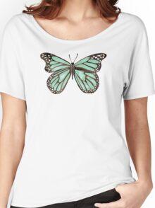 Mint Butterfly Women's Relaxed Fit T-Shirt
