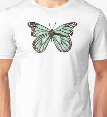 Mint Butterfly Unisex T-Shirt