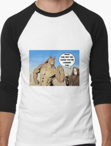 These aren't the 'roids you're looking for Men's Baseball ¾ T-Shirt