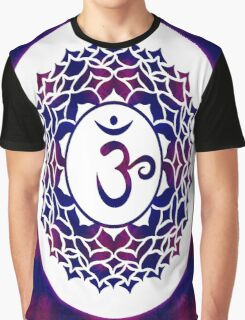 Crown Chakra Abstract Spiritual Artwork  Graphic T-Shirt