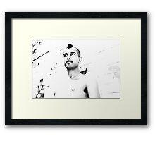 Brisbane Boys - Heath Framed Print