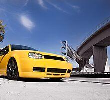 Imola Yellow GTI by sullyshah
