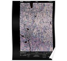 USGS Topo Map Washington State WA Snohomish 20110422 TM Inverted Poster