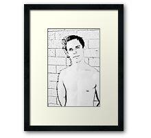 Brisbane Boys - Jaret Framed Print