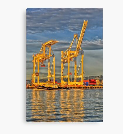 Port Of Oakland Canvas Print