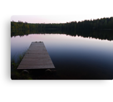 Taulajärvi Lake Canvas Print